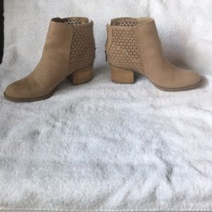 Madden girl taupe booties size 6.5